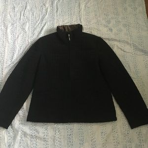 Black Quilted Jacket Size M